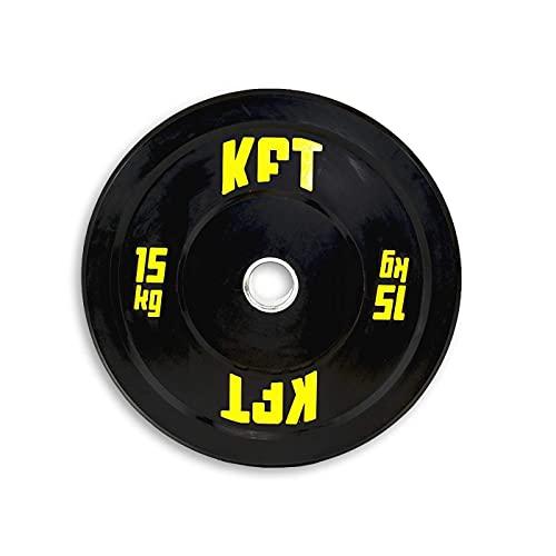 KFT Disco Bumper Negro - 10 kg.