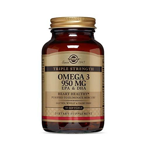 Solgar Omega 3 triple concentración, Apoyo al Cuidado del...