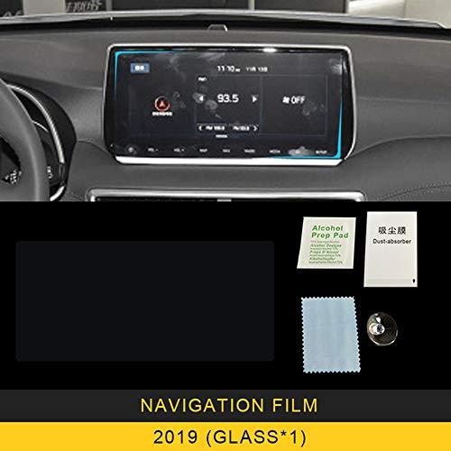 FANGPAN Für Hyundai Tucson 2013-2019, Auto Car Navigation Film GPS-Monitor Bildschirmschutz aus gehärtetem Glas Film Aufkleber Zubehör