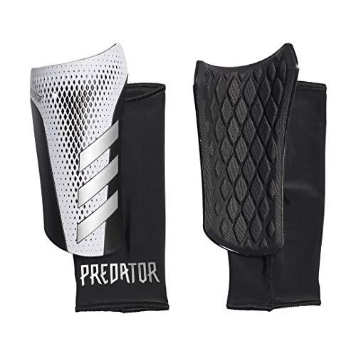 Adidas Predator Sg Lge Mens Shinguards White/Silvermet/Black L