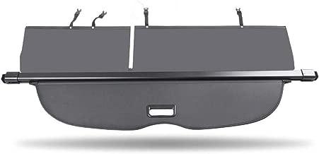 caartonn Cargo Cover Compatible for 2015 2016 2017 2018 Nissan Murano Trunk Retractable Cargo Luggage Security Shade Cover Shield Black