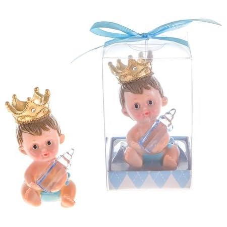 keepsake Favor decoracion for Boy Unique Royal Prince Cake Topper Centerpiece