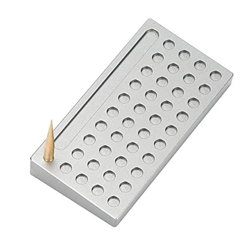 Uhrenzifferblatt-Stützplatte, Legierungsmaterial Uhrengehäuse-Gehäusehalter für die Reparatur von Uhren für die Reparatur von Computern und Telefonen