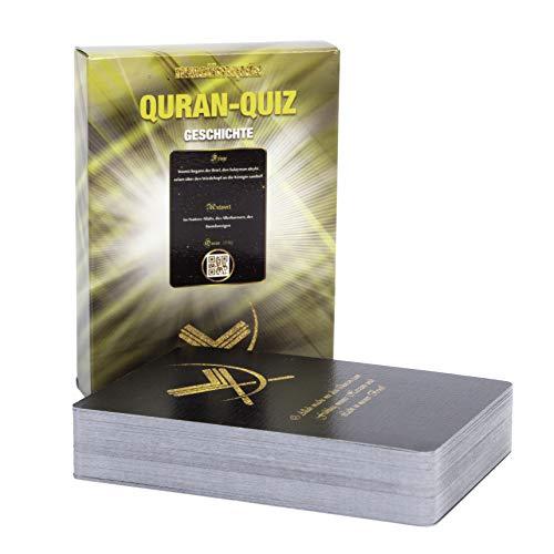 NIYYAH Islamisches Spiel Quizkarten Quran Fragen über Koran und Islam inklusive eigene App