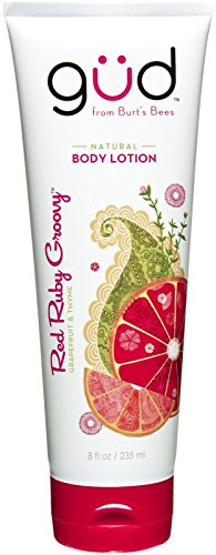 Gud Natural Body Lotion Red Ruby Groovy Grapefruit & Thyme 8fl oz.