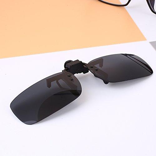 Óculos de sol esportivos Sedeta polarizado com clipe de visão para dirigir ao ar livre para homens e mulheres