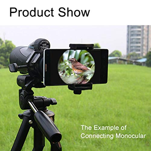 Wenwenzui-ES Tragbare cm-4 Mikroskop Adapter Clip Binokular Monokulare Spektive Universal Handy Kamera Adapter Halter