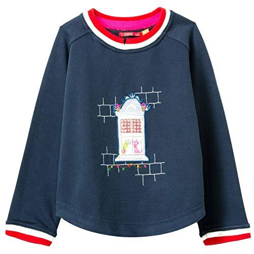 Oilily Home Sweater YS20GHJ002 - Bolsa Estampada Azul 140