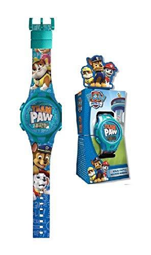 PAW PATROL Digitale Armbanduhr für Erwachsene, Unisex, mehrfarbig, Einheitsgröße