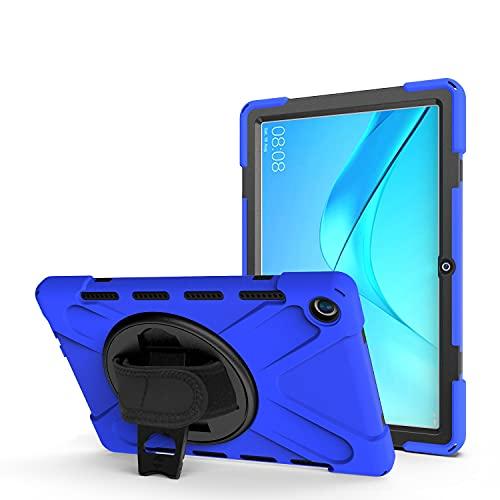 AHUOZ Tablette PC Sac à Manches Couverture de Tablette pour Huawei M5 10.8 / M5 Pro, Kids Plein Body Pohna Tablet Tablet avec Bracelet à la Main/bandoulière à bandoulière. (Color : Blue)