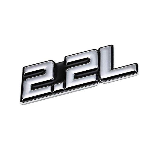 CHROME//RED ALL TERRAIN ENGINE RACE MOTOR SWAP BADGE FOR TRUNK HOOD DOOR B
