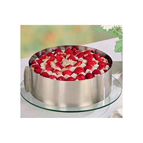 TABLE&COOK Anello da Pasticceria per Dessert e Torte