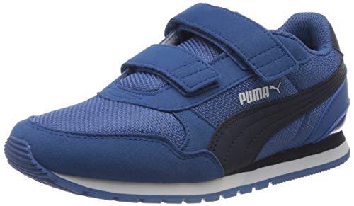 Puma Unisex Baby St Runner V2 Mesh V Ps Sneaker, Blau Bright Cobalt Peacoat White 07, 30 EU