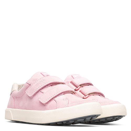 CAMPER Girls Pursuit Kids Sneaker, Lt/Pastel Pink