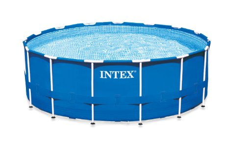 Intex Metal Frame Pool Set, 15-Feet x 42-Inch
