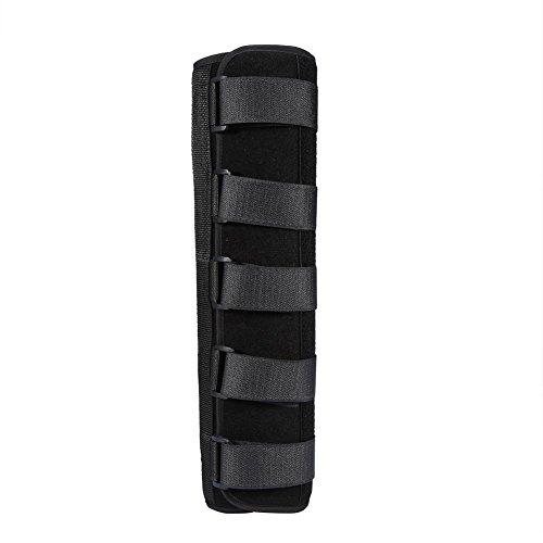 Ellenbogenmanschette, Ellbogenstütze der oberen Extremität Armschiene Stützkompressionshülse, Winterstil für Golfer Ellenbogenbehandlung bei Sehnenentzündung(L)