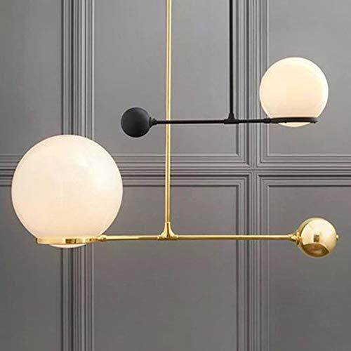 XZhstes - Lámpara de mesa y farolillos para salón o comedor de 60 cm x 60 cm
