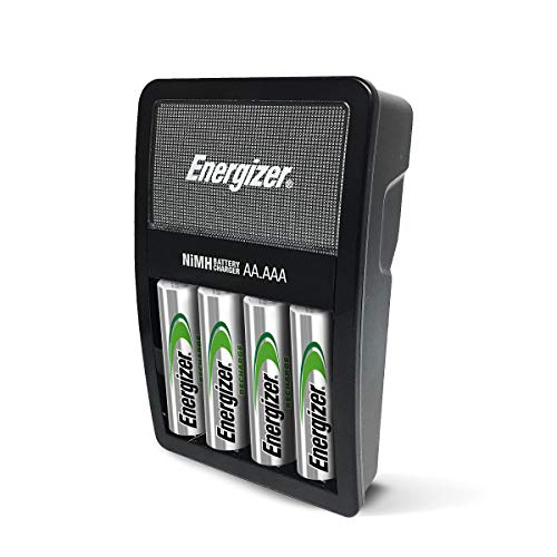 Energizer Rechargeable AA and AAA Battery Charger w/ 4 AA NiMH Rechargeable Batteries - $9.99