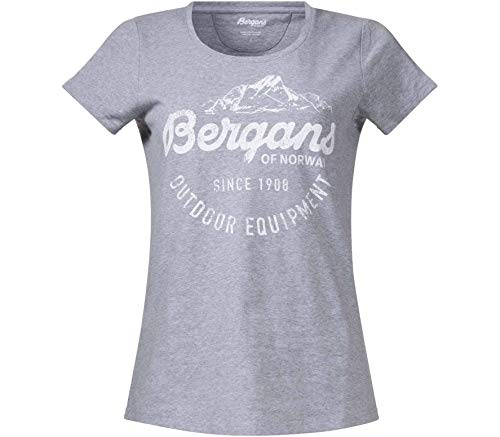 Bergans Classic Femmes T-Shirt L Argent L