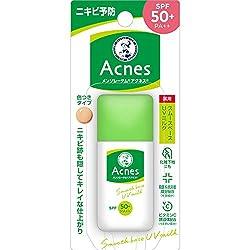 【医薬部外品】メンソレータム アクネス ニキビ予防薬用UVティントミルク SPF50+ PA++ 肌色タイプ 30g