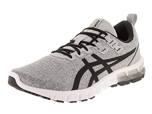 ASICS Men's Gel-Quantum 90 Running Shoes, 9.5M, MID Grey/Black