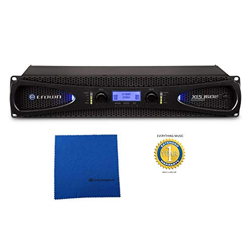 Great Deal! Crown XLS 1502 2-channel, 525W 4Ω Power Amplifier with Microfiber and 1 Year Everythin...