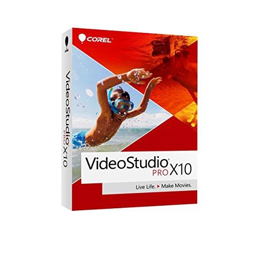 Corel VideoStudio Pro X10 Video Editing Suite for PC (Old Version)