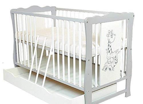 Cuna con cajón/cama junior 'Diana' colchón gratis
