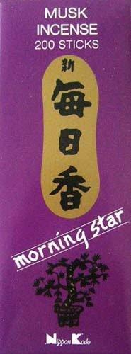 Nippon Kodo Incienso Morning Star Aroma Musk (Almizcle)