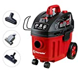 Vacmaster Shop Vac 5 Peak HP 4 Gallon Wet Dry Vacuum Cleaner with Heap...