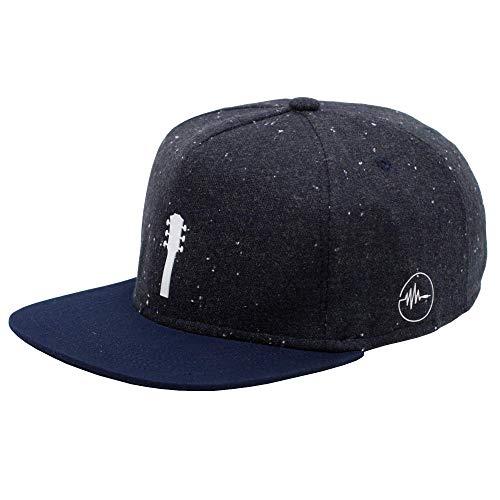 taktfest Brand Gitarre Snapback Cap für Damen und Herren - Snapback für Gitarristen - Baseball Mütze verstellbar stylisch und hochwertig als Accessoire für jedes Outfit