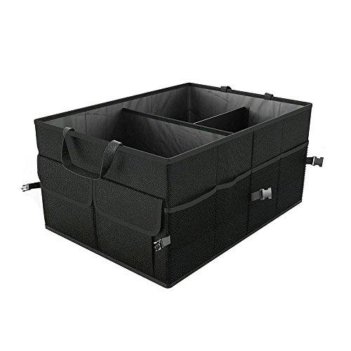 DegGod Bagagliaio Auto Organizer, Multiuso Auto Scatola di Immagazzinaggio Pieghevole Auto Spazio Bagagliaio Stoccaggio Durable Collapsible Cargo Storage