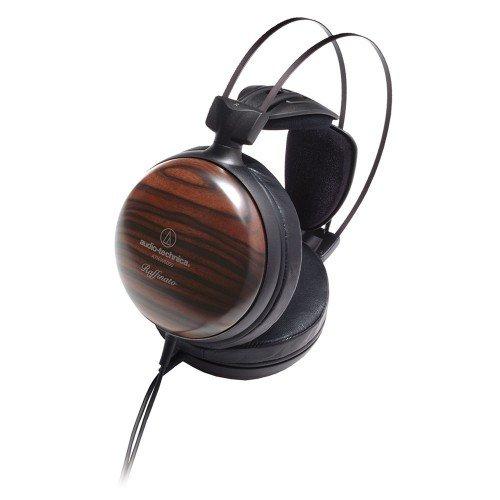 Audio-Technica ATH-W5000 - Auriculares de Alta resolución para Audio Filo con Carcasa de ébano, Multicolor