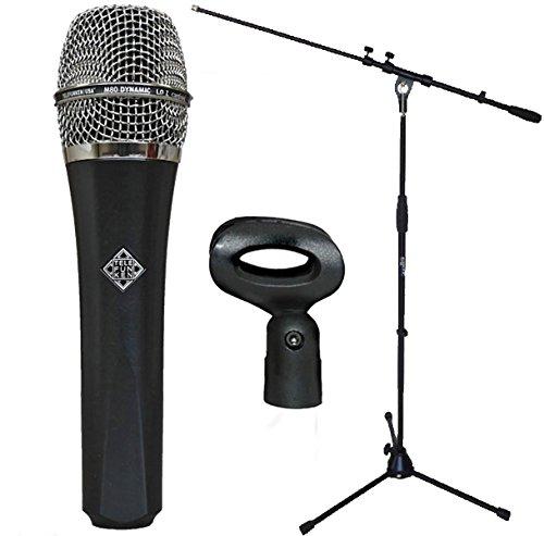 Telefunken M80Micrófono dinámico + Soporte para micrófono Keepdrum