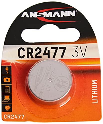 ANSMANN 1516-0010 Knofpzelle Batterie Lithium CR 2477 - 3V