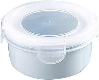 HDDFG Boîte à Lunch Ronde/Rectangle boîte de Rangement en Plastique conteneur de Stockage des Aliments conteneur Alimentai...