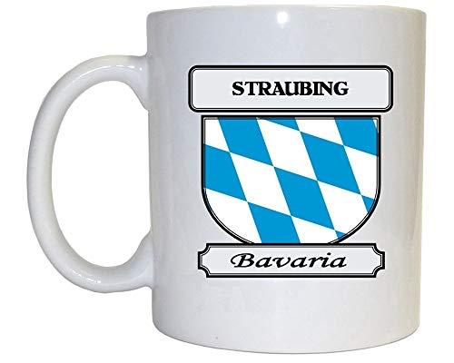 sodnz Tasse Straubing Bavaria City Kaffeetasse Geschenk Nachmittagstee Porzellantasse Dauerhafte Jubiläumshaus Personalisierte Hotelbüro Unisex 330Ml Mitarbeiter