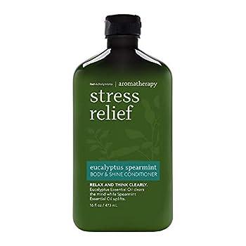 Bath and Body Works Aromatherapy Stress Relief Eucalyptus Spearmint Body & Shine Conditioner 16oz