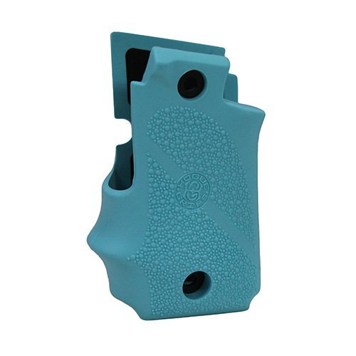 Hogue 38004 Sig P238 Grips, with Finger Grooves, Aqua