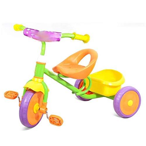 Smmli-Toy Kinderdreirad, Leichtes Kinderfahrrad Fahrer Dreirad Kinderwagen Baby Artefakt
