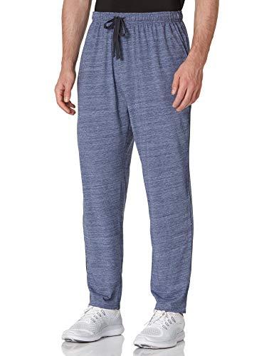 HIKARO Amazon Brand Pantaloni Pigiama Uomo Sportivi Casual Soft Trousers Nightwear Sleepwear Tracksuit Bottoms Joggers Navy Blue M