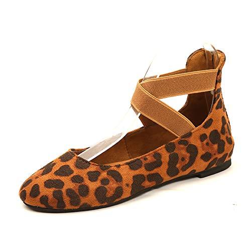 Vrouwen Platte sandalen Mode Zomer Gesloten teen Damesschoenen Ondiepe mond elastisch verband ronde kop damesschoenen