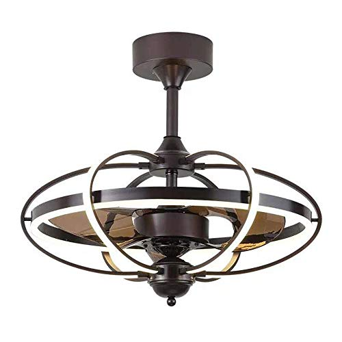 Ventilador de techo de control remoto invisible araña, motor silencioso, para iluminación de techo, luz colgante de dormitorio, pasillo, sala de estar, lámpara colgante moderna.
