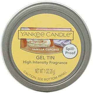 Yankee Candle VANILLA CUPCAKE High Intensity Fragrance Gel Tin 1 Ounce