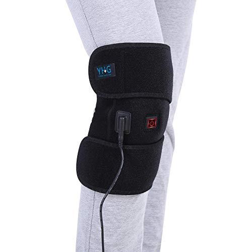 Almohadilla térmica para rodilleras con calefacción Almohadilla térmica para rodillas Mujeres y hombres para lesiones de rodilla, calambres Recuperación de artritis