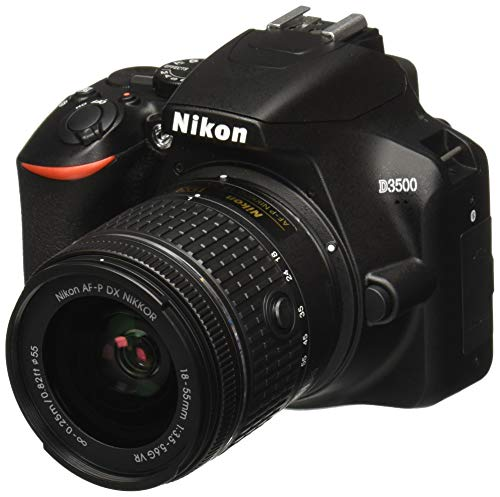 Nikon D3500 Lente AF-P DX, Video Full HD 1080p, 18-55 mm