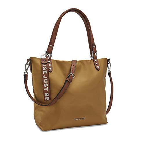 MARCO TOZZI Damen Handtasche 2-2-61038-25, Mustard Comb, 1 EU