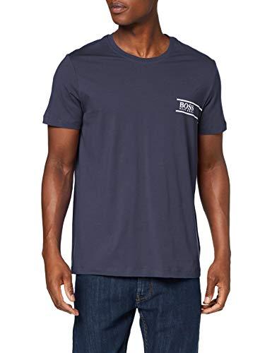BOSS T-Shirt RN 24 Camiseta, Azul (Navy 414), Small para Hombre