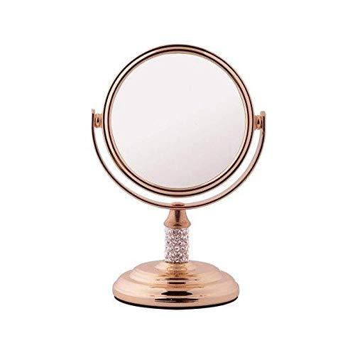 FMG Mini miroir grossissant x5 Or rose