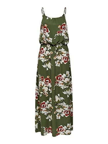 ONLY Damen Onlwinner Sl Maxidress Noos Wvn Casual Dress, Kalamata, 36 EU